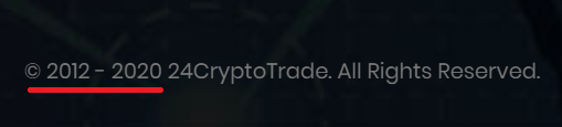 24crypotrade scam fake year