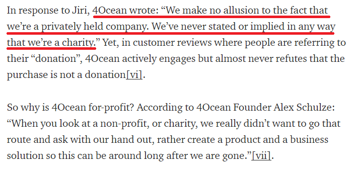 4ocean scam not a charity