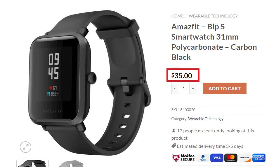 sportecentral sport central scam amazfit fake price
