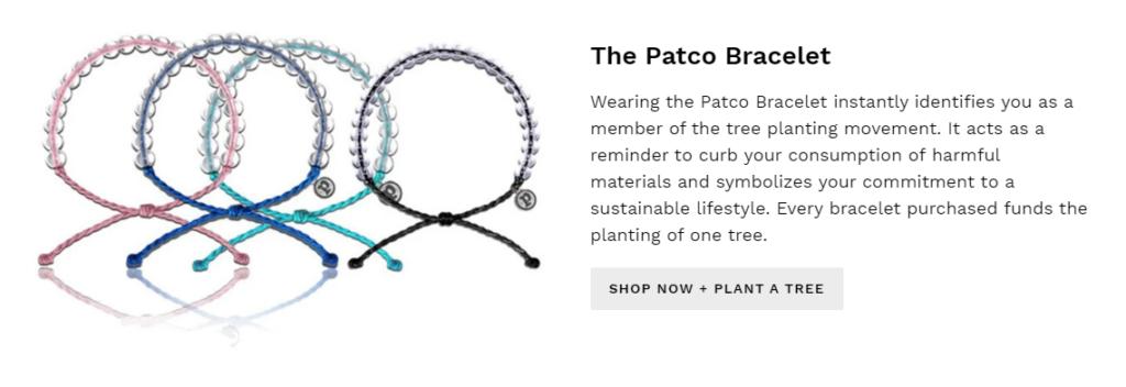 plant a tree co plantatreeco scam bracelet 1