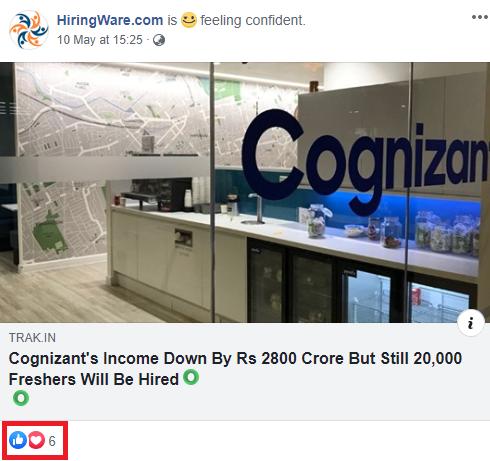 jobacute hiringware scam facebook post 3