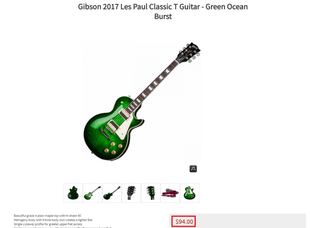 deathones guitar shop scam gibson guitar fake price