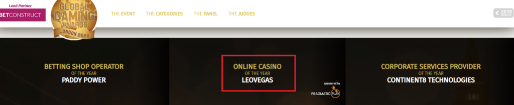 leovegas awards