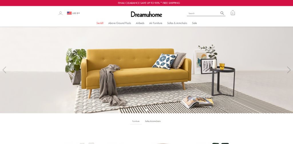 dreamuhome manyhnice scam home page