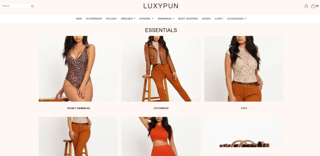luxypun scam home page