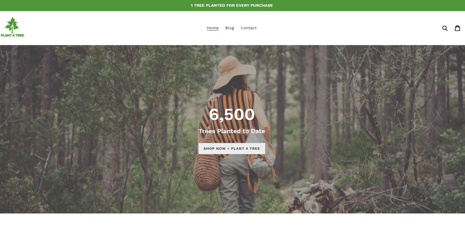 plant a tree co plantatreeco scam home page