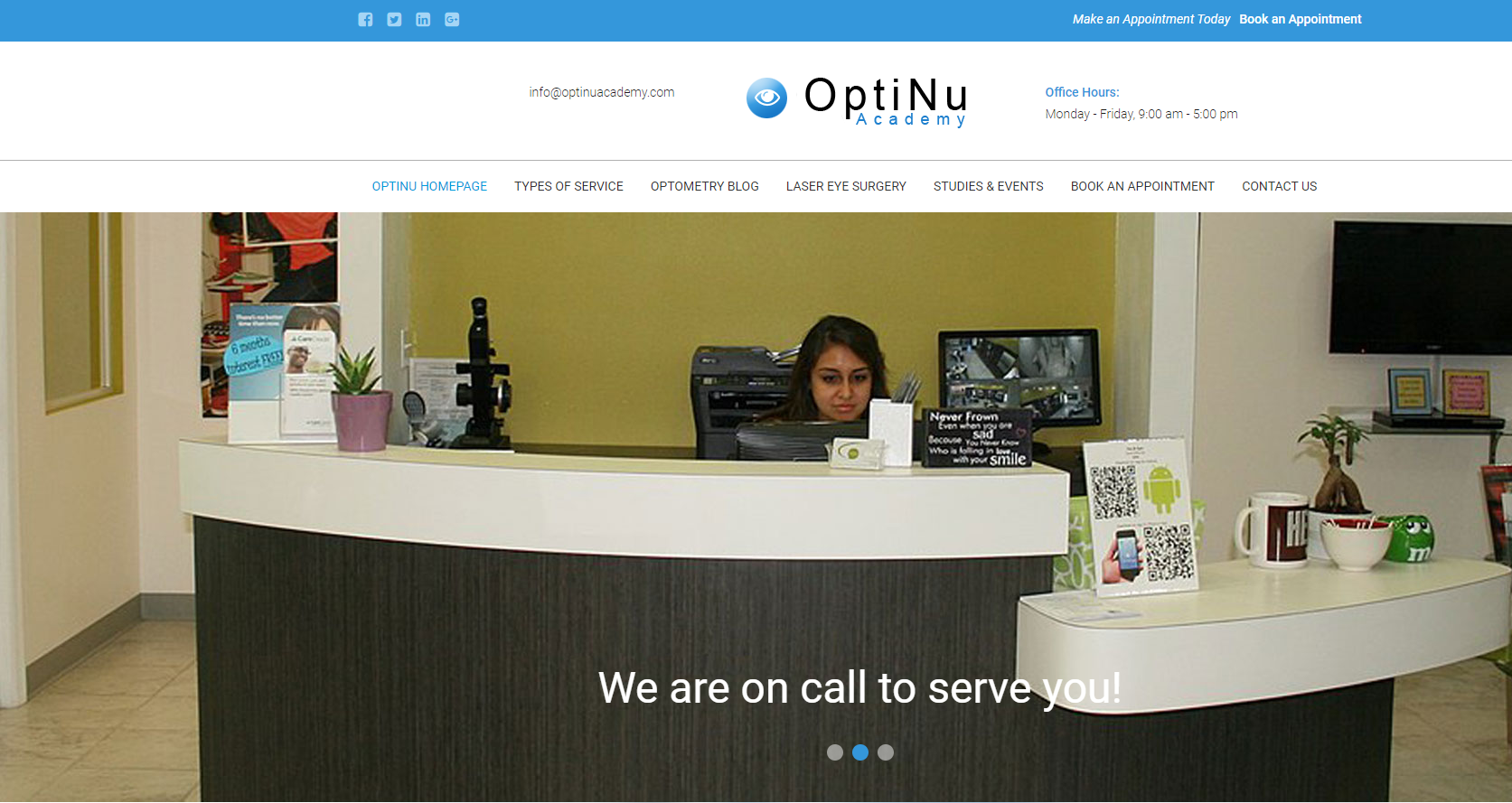 optinu academy scam fake reception