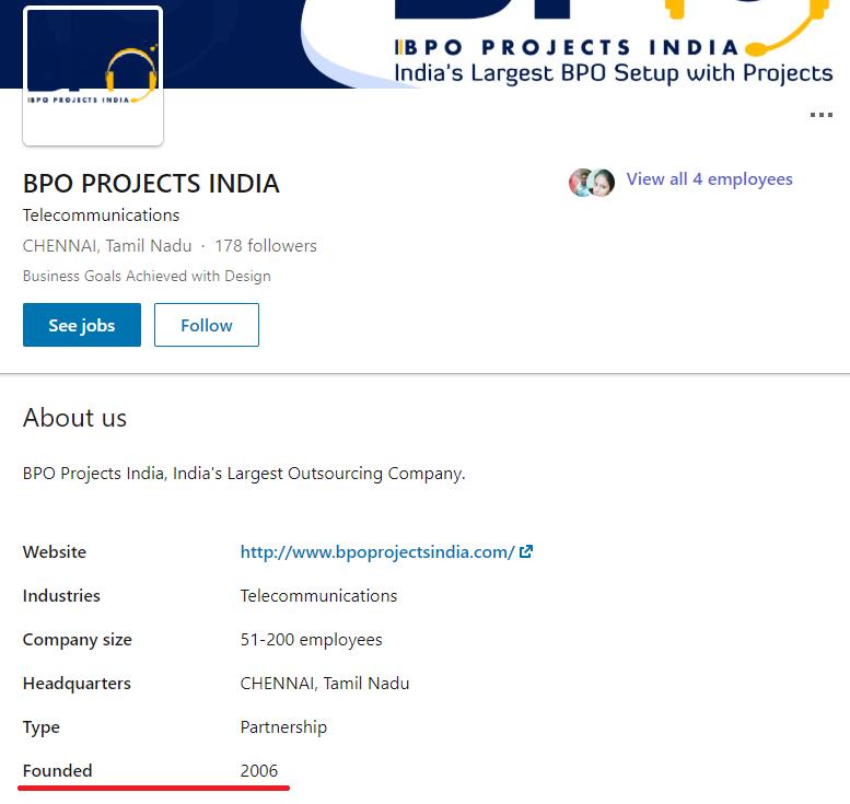 bpo projects provider india linkedin