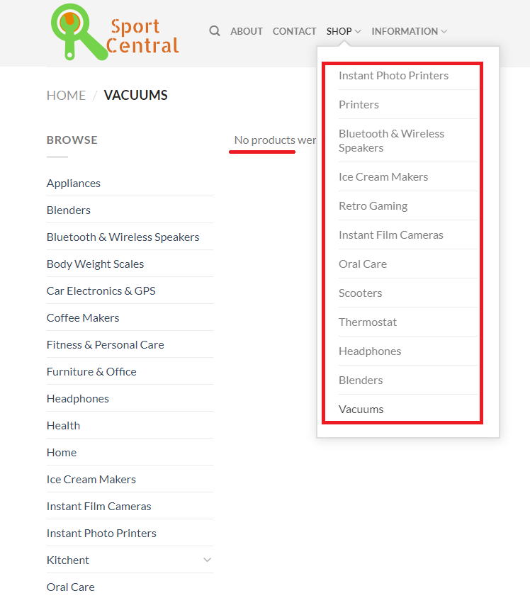 sportecentral sport central scam no products