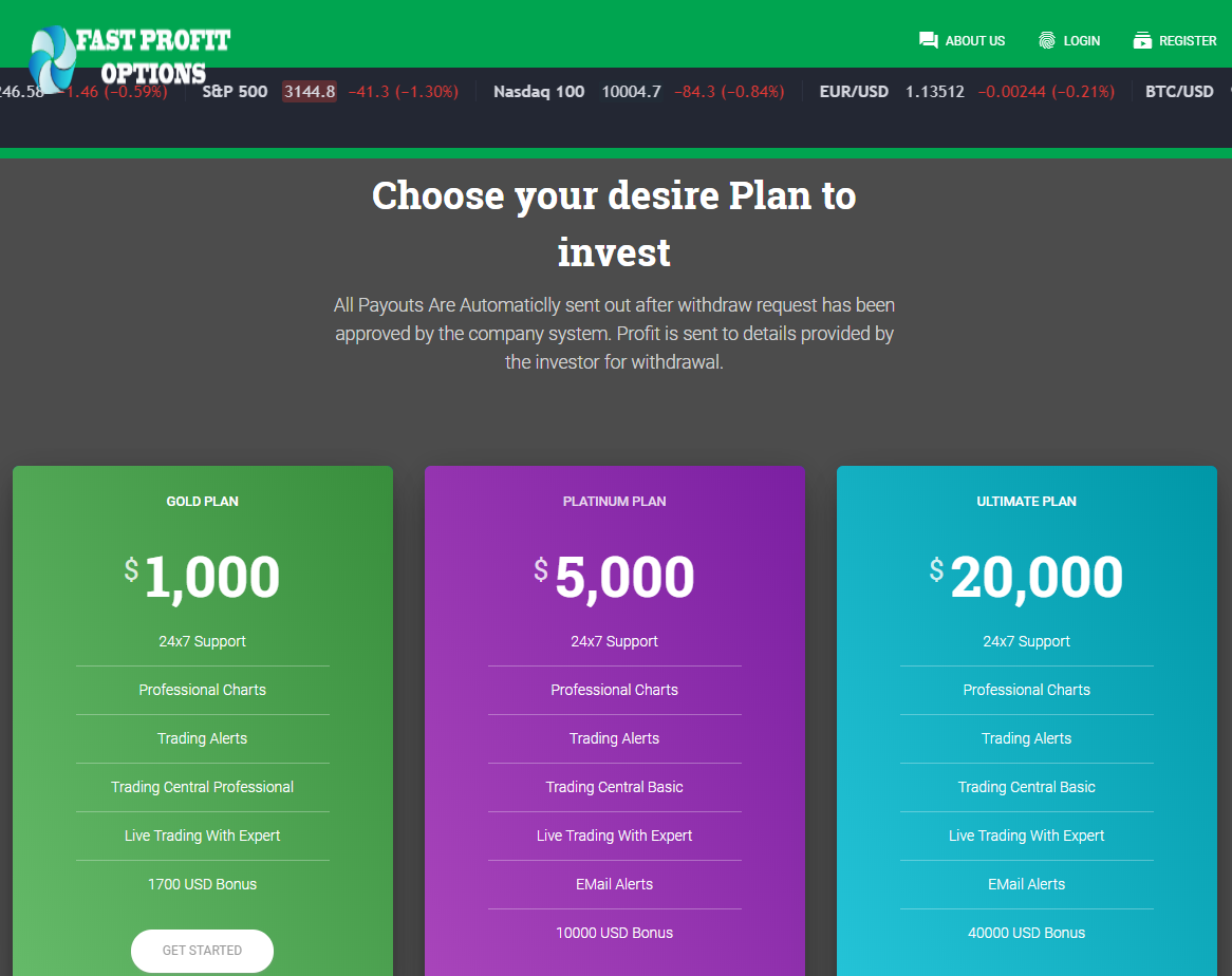 CryptoFxBlockmining BTCBoostmine BTCFrost FastProfitOptions scam plans 2