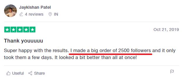 instafamous pro scam trustpilot review real 4