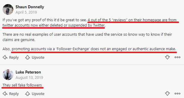 instafamous pro scam quora comments
