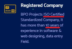 bpo projects provider india fake claims