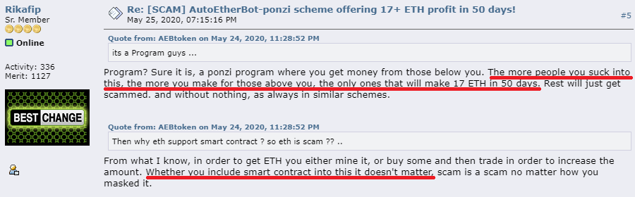 autoetherbot ethereum scam bitcointalk review 3