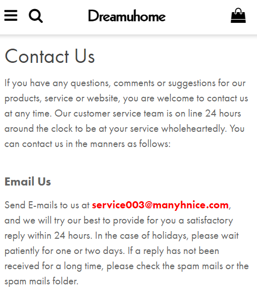 dreamuhome manyhnice scam contact service003