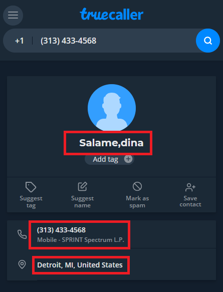 luxypun scam fake phone number