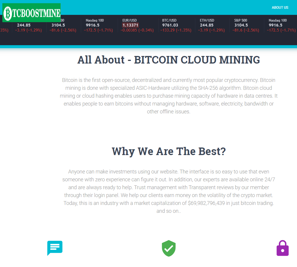 CryptoFxBlockmining BTCBoostmine BTCFrost FastProfitOptions scam whyus 2