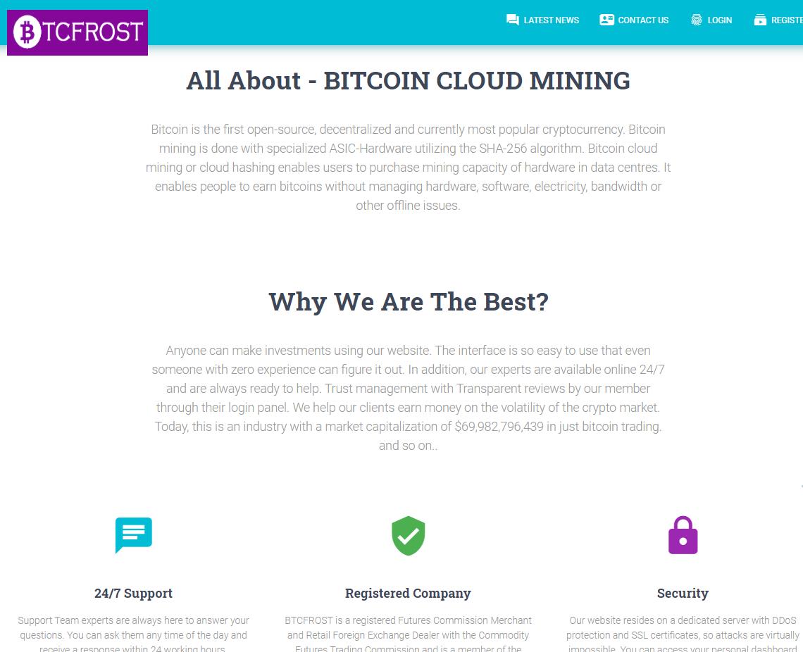 CryptoFxBlockmining BTCBoostmine BTCFrost FastProfitOptions scam whyus 1