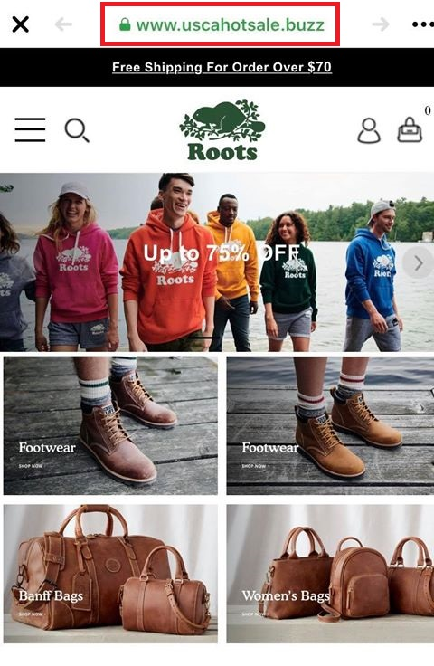 roots copycat scam 2