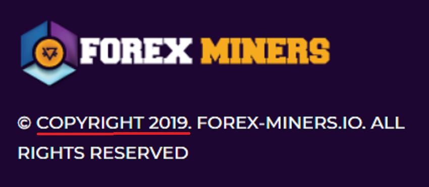 forex miners pyramid scheme 2019 fake year