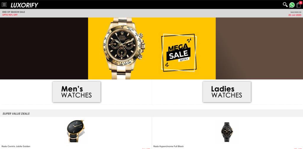luxorify timestudio scam home page
