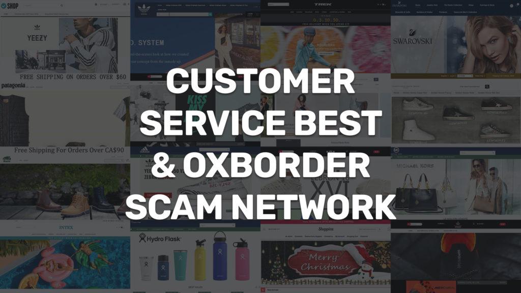 customerservicebest oxborder fake website scam network