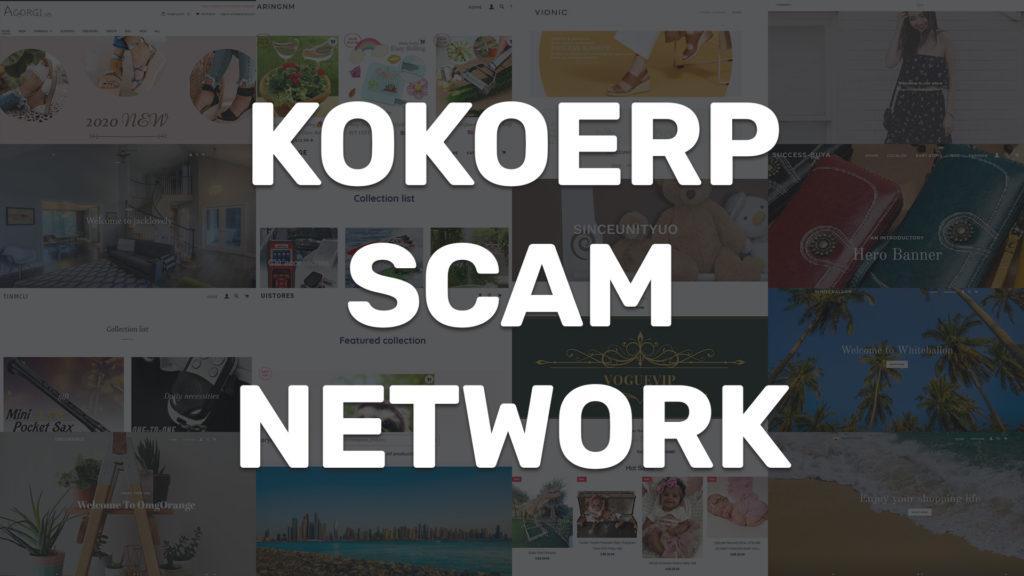 kokoerp scam network collage