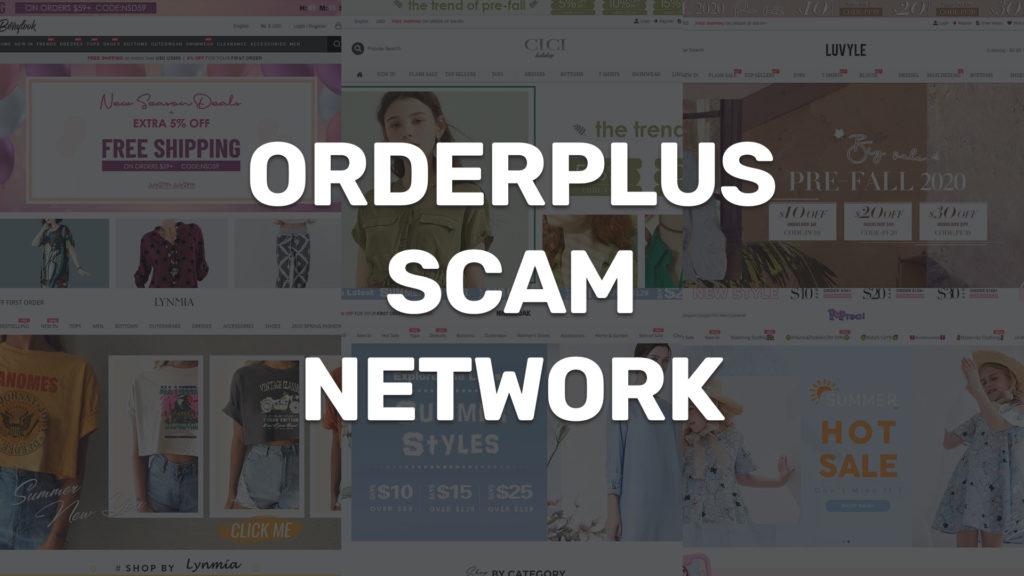 orderplus scam network