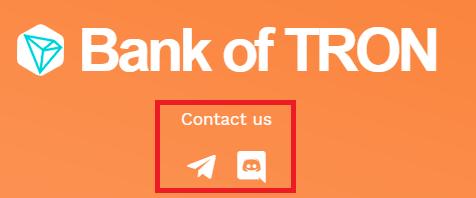 tronbank contact