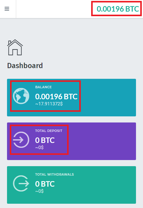 cryptofree scam dashboard