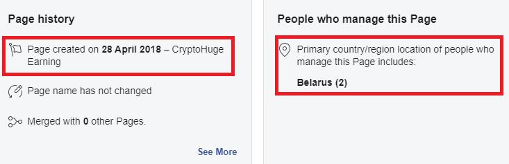 cryptohuge facebook 2