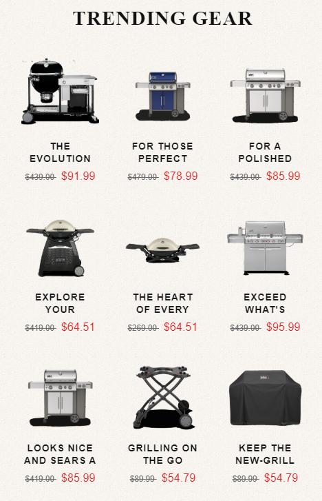 webeves fake weber grills