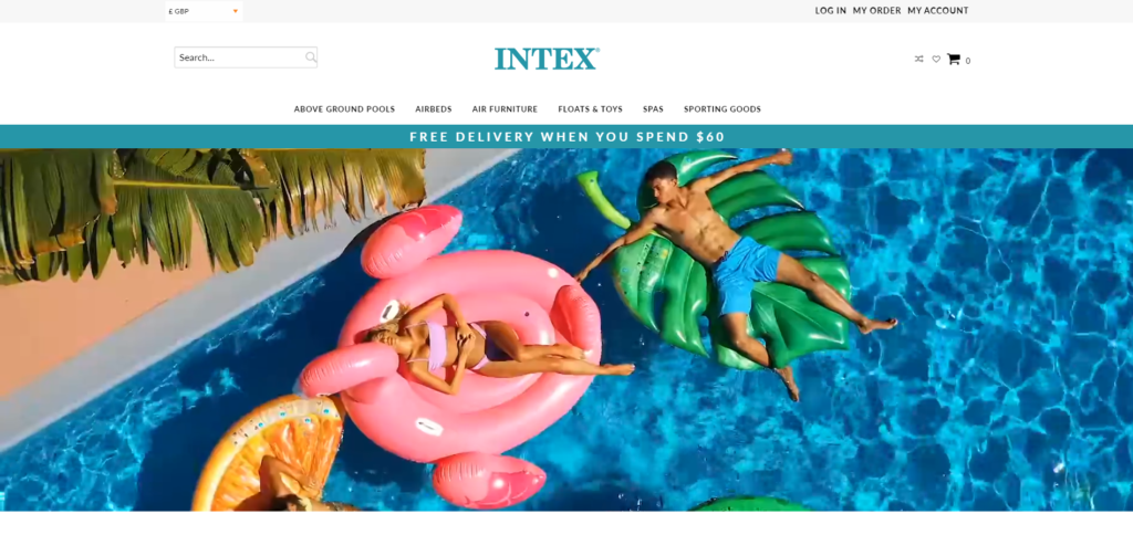 fake intex store