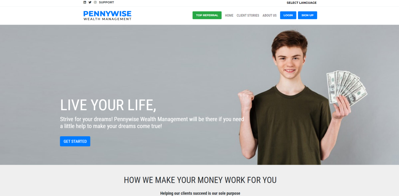 pennywise wealth management scam