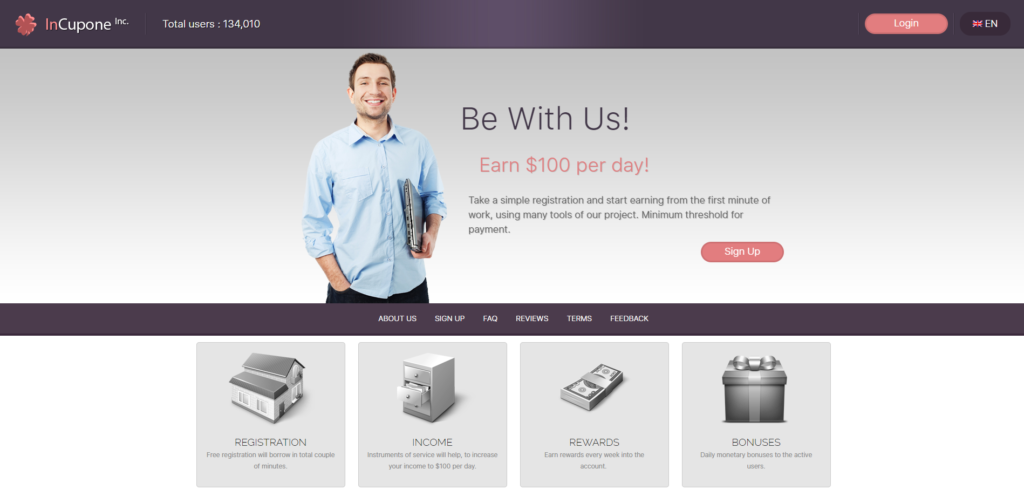 incupone tomyrise scamhome page