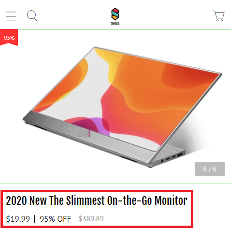fake bladex monitor