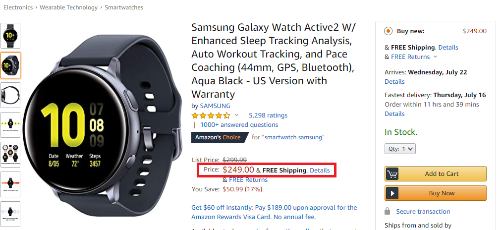 real samsung watch