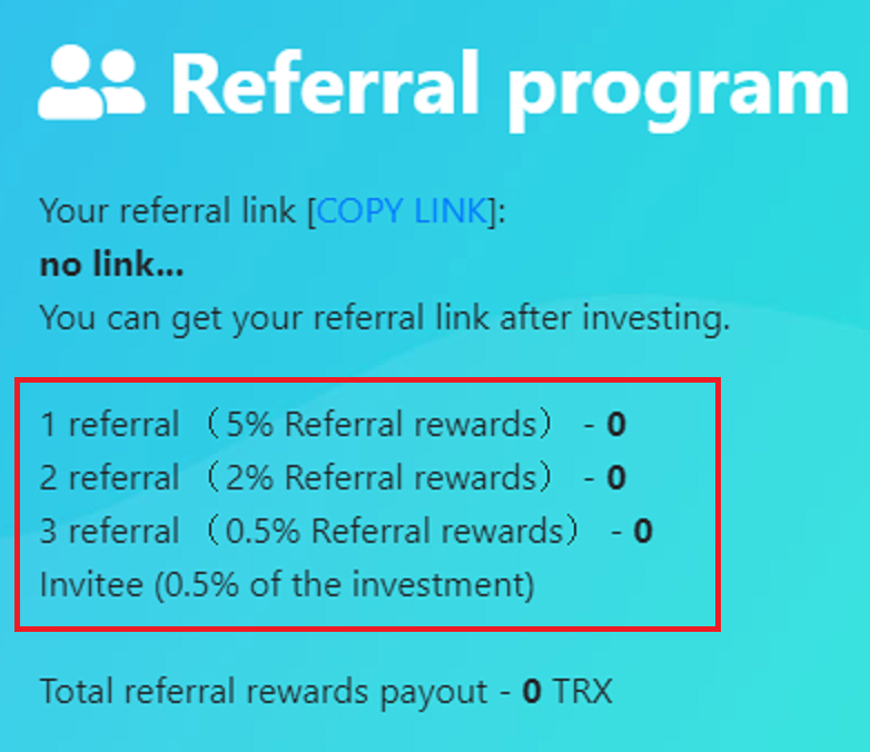 bank of tron scam referral program