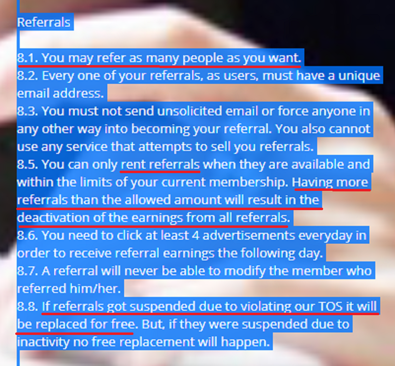 referral policy