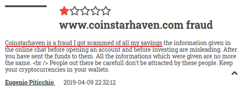 coinstarhaven review 2