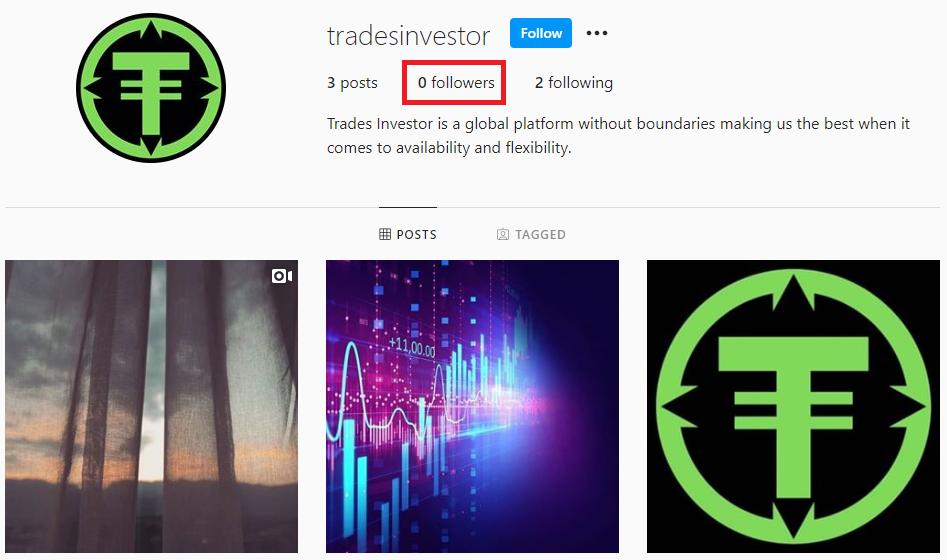 tradesinvestor instagram