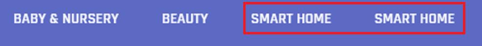 smart home listed twice