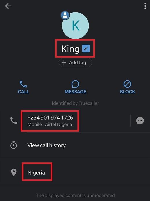 tradesinvestor scam truecaller king