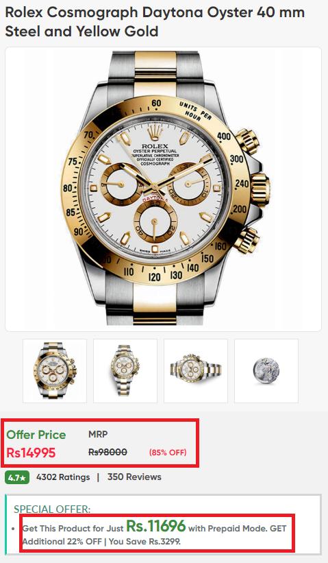 timestudio luxury watch scam rolex fake price