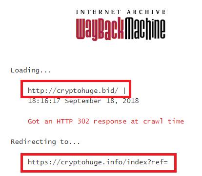 cryptohuge wayback 1