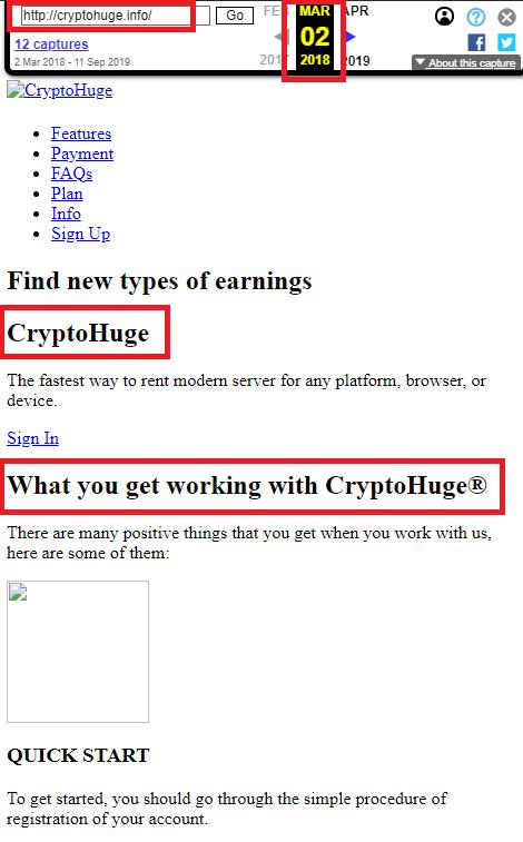 cryptohuge wayback 2
