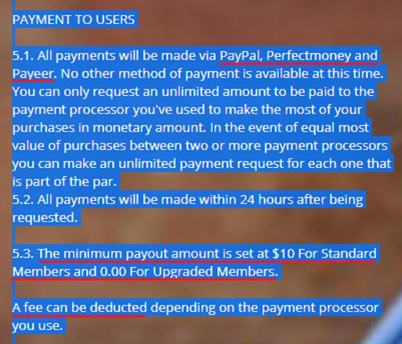 banco payment methods fake