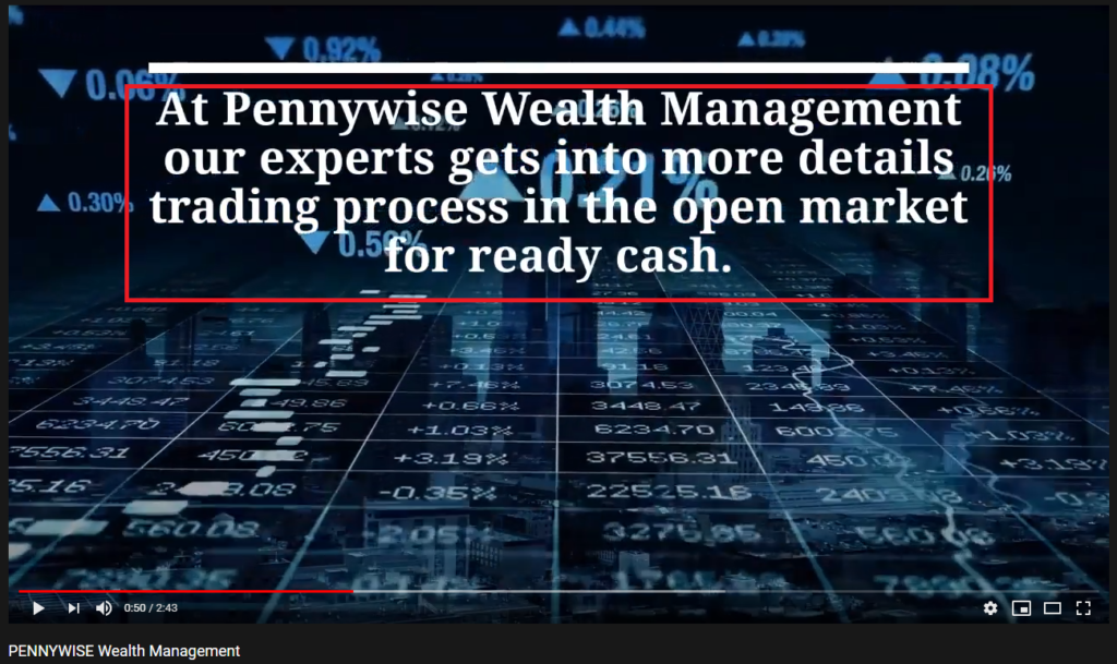 pennywise wealth management scam youtube 1