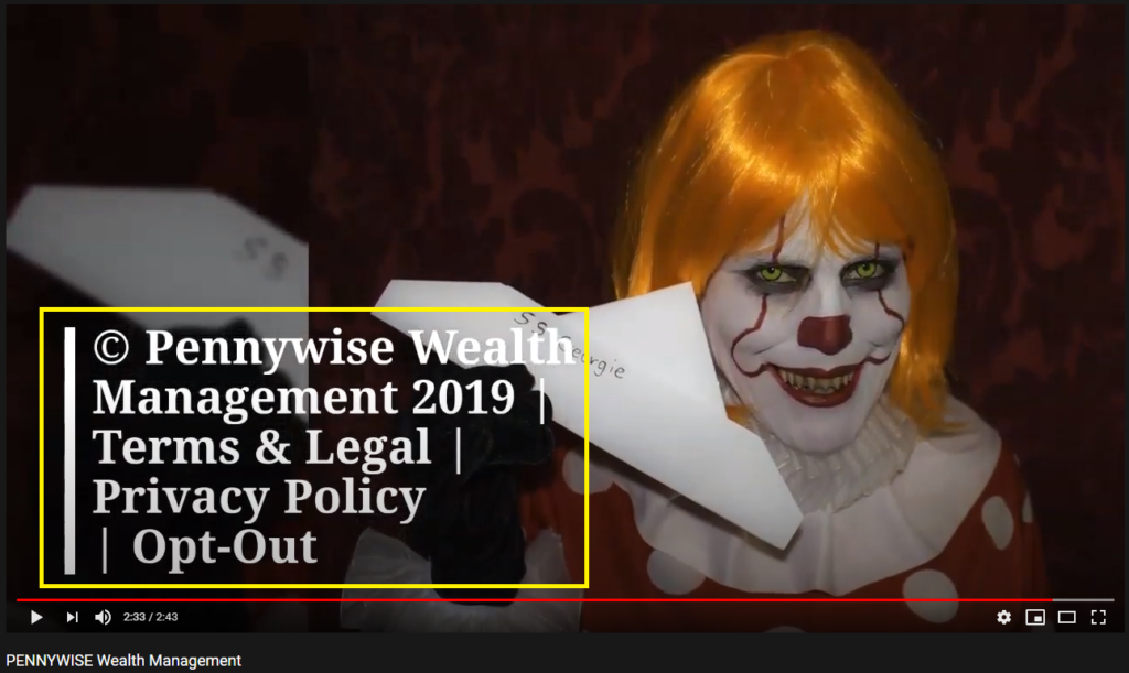 pennywise wealth management scam youtube 2