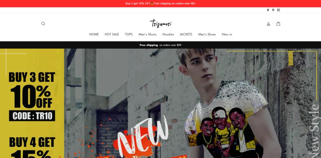 trisumori scam home page